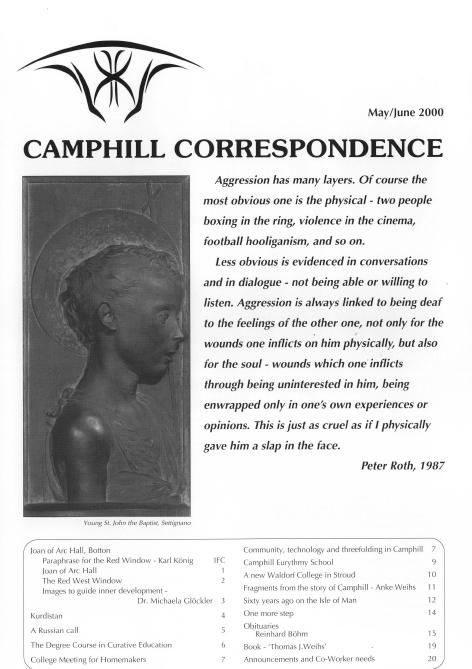 Camphill Correspondence May/June 2000