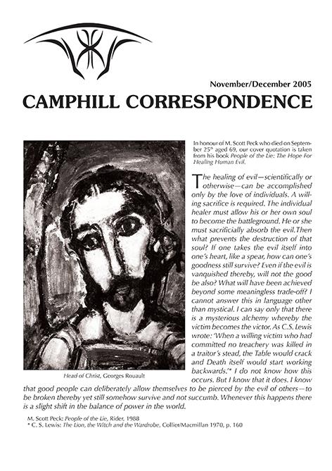 Camphill Correspondence November/December 2005