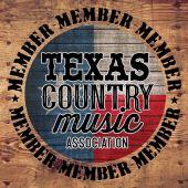 texas country music association member logo