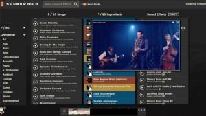 a soundwhich screenshot
