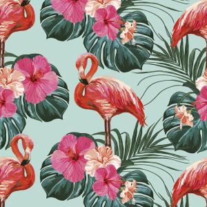 Möbelfolie Flamingo Pastell