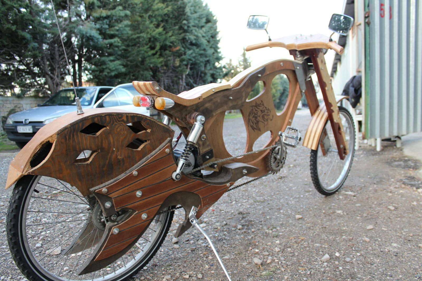 Handmade Wooden Bicycles