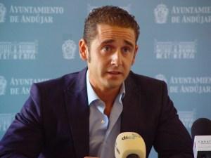 El concejal de Obras y Servicios, Felix Caler.