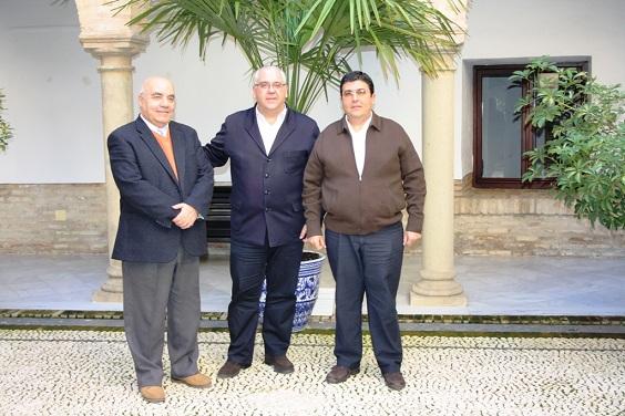 Pablo Utrera, Jesús Estrella y José Millán.