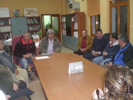 Reunión con los colectivos y asociaciones relacionados con el sector del caballo de Andújar.