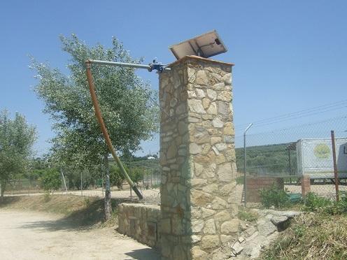 Con este sistema se regulará el agua para riego en Lopera.