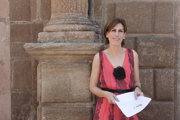 La concejala de Cultura en el Ayuntamiento de Andújar, Delia Gómez.