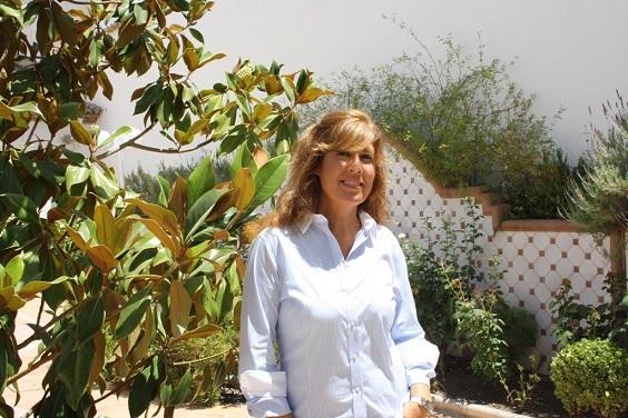 La concejala de Mujer e Igualdad del Ayuntamiento de Andújar, Rosa María Fernández de Moya.