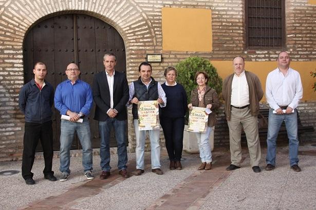 Acto de presentación de las Jornadas Gastronómicas de Andújar 2013.