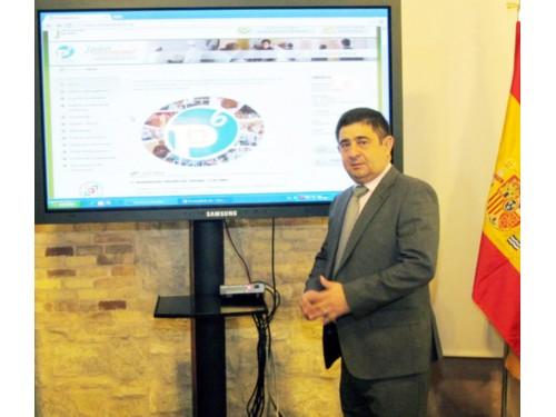 El presidente de la Diputación Provincial de Jaén, Francisco Reyes.