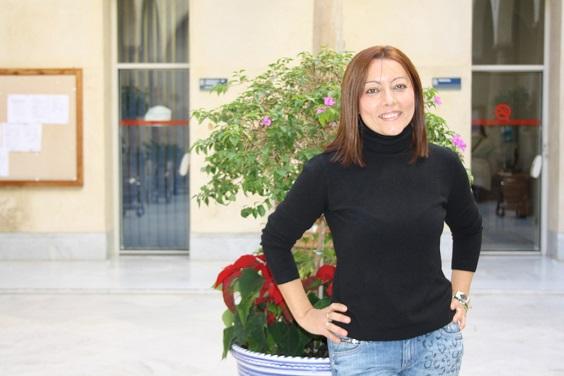 La agraciada María José Navarro.
