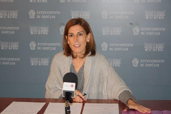 La concejala de Cultura del Ayuntamiento de Andújar, Delia Gómez.