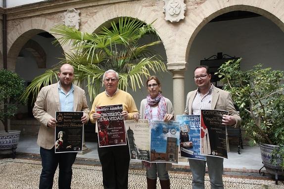 Acto de presentación del Concierto de Semana Santa, en Andújar.