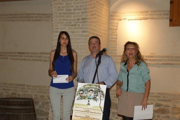 Acto de entrega de premios del Certamen de Relatos.