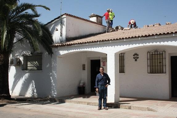 El concejal de Servicios e Infraestructuras Urbanas, Félix Caler, ante las obras previstas.