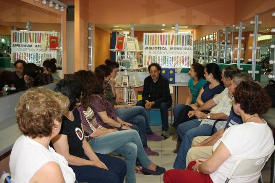 El taller fue impartido por el actor y dramaturgo Antonio Rodríguez Menéndez.