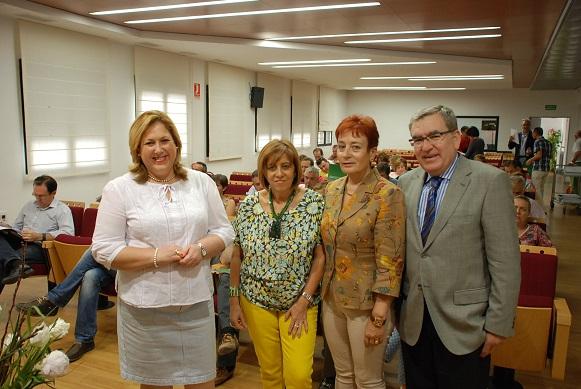 Ángeles Jiménez, Purificación Gálvez y Ana Conde, entre otros.