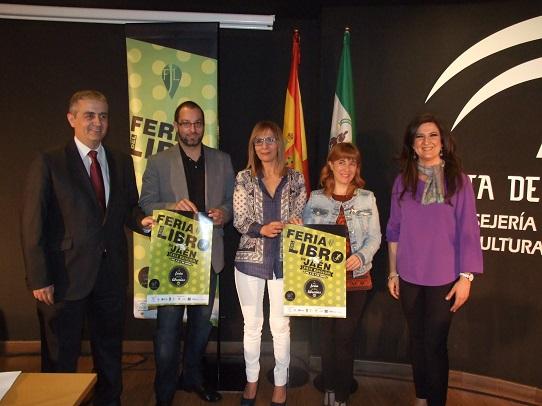 Acto de presentación de la XXIX Feria del Libro de Jaén.
