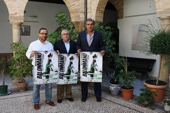 Acto de presentación de la XIX Copa de Andalucía de Balonmano.