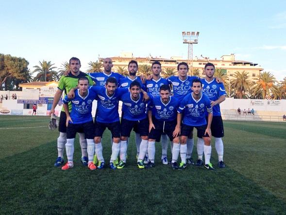 Formación titular del Atlético Porcuna para este partido.