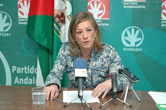 La portavoz municipal andalucista, Encarna Camacho.