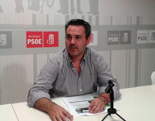 El concejal socialista de Andújar, Jesús del Moral.