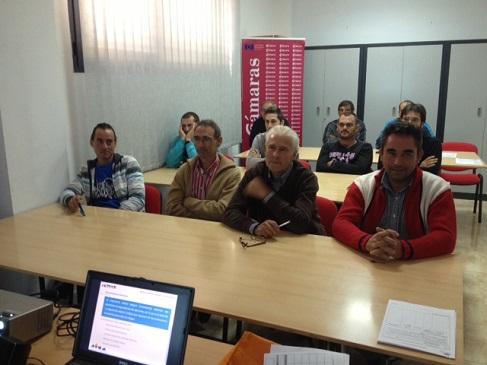 Alumnos de Andújar asistentes a este curso.