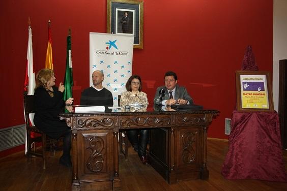 Acto de presentación del I Festival de Lengua de Signos de Andújar.