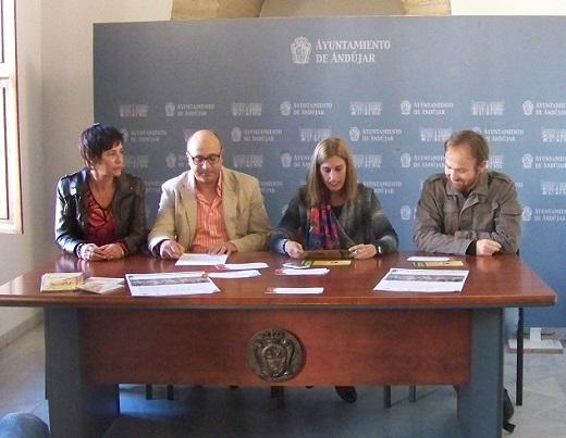Ana Garzón, Abdelaziz Samsaoui, Delia Gómez y Miguel Ángel Muñoz.