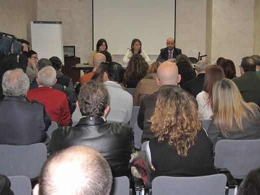 Ana Cobo mantuvo un encuentro con las entidades beneficiarias del Andalucía Orienta.
