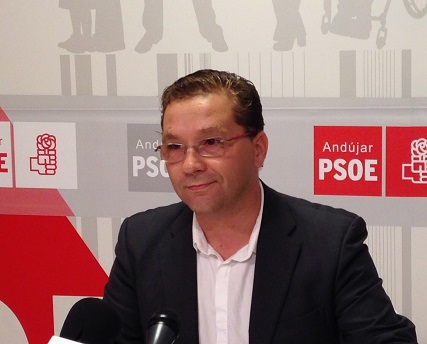 El portavoz socialista en Andújar, Francisco Huertas.