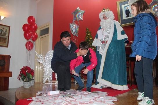 La entrega de las cartas se realizará en el Palacio de los Niños de Don Gome los días 2 y 3 de enero.