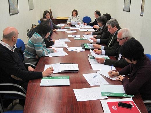 Reunión de la comisión de prevención de riesgos laborales.