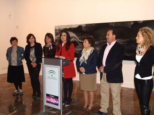 Inauguración de esta exposición en el Museo Provincial de Jaén.
