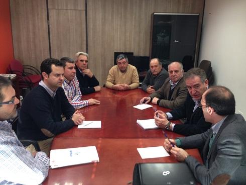 Reunión mantenida entre COAG-Jaén y el delegado de Agricultura.