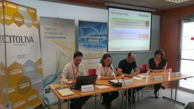Los técnicos imparten estas jornadas formativas organizadas por la Agencia Andaluza del Conocimiento.