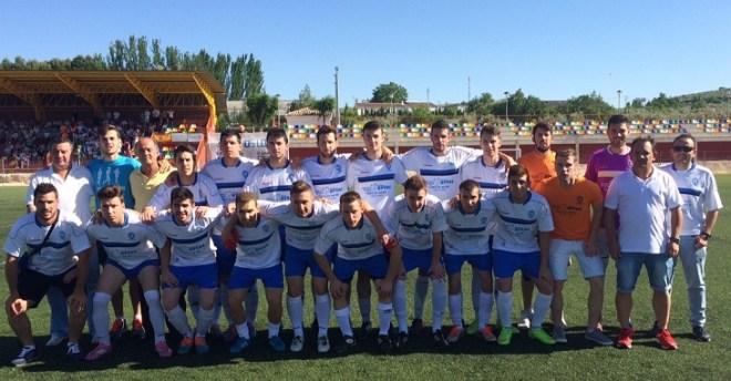 Equipo de la A.D Lopera que ha logrado el ascenso a la Segunda Andaluza de Jaén.