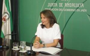 La delegada territorial de Economía, Innovación, Ciencia y Empleo, Ana Cobo,