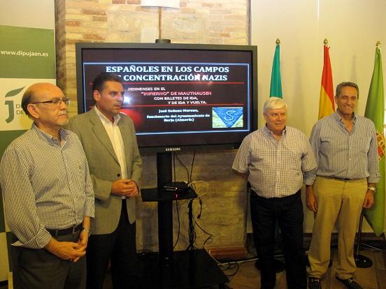 Numeroso público ha asistido a esta conferencia celebrada en el Aula de Cultura de la Diputación.