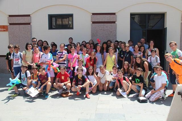 Participantes en el concurso fotográfico de esta Feria del Emprendimiento.