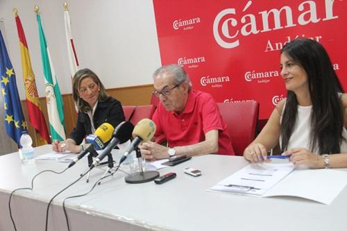 Acto de presentación de la Feria de Empleo y Emprendimiento de Andújar.
