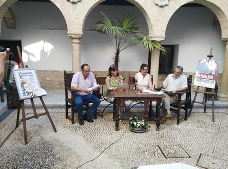 Acto de presentación de este galardón en Andújar.