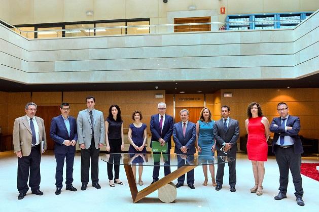 Sánchez Maldonado informó sobre los planes de empleo joven en una reunión con una delegación de la Comisión Europea.