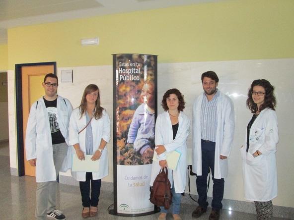 Cuatro nuevos médicos internos residentes (MIR)  han comenzado su trabajo en el Hospital de Andújar.