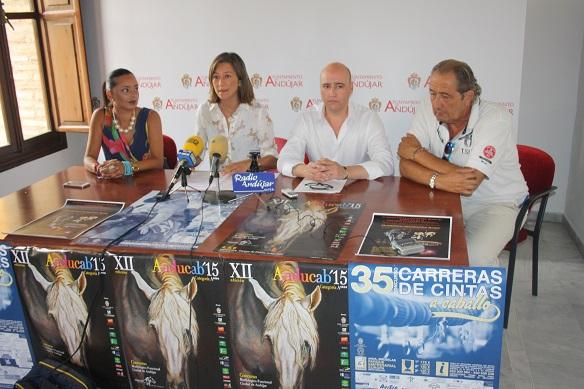 Acto de presentación de Anducab, Pórtico del Caballo Andaluz, que celebra su XII edición en Andújar.