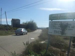 Una carretera en la comarca de Andújar.
