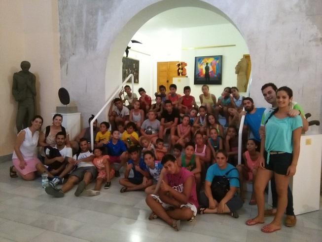 Los niños de Andújar visitan este museo.