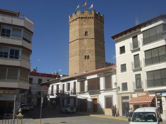 Torreón de Boabdil, en Porcuna, incluido en la Ruta de los Castillos y Batallas.