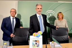 El consejero de Salud, Aquilino Alonso, informó sobre las donaciones de órganos en Andalucía.