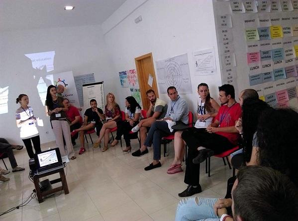 Curso sobre liderazgo juvenil celebrado en Arjona.